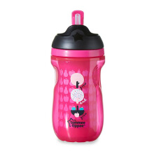 TOMMEE TIPPEE Insulated Straw Cup - Pink