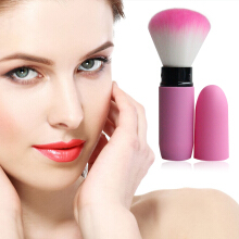 [Kingstore]Portable retractable brush loose powder brush blush brush makeup brush