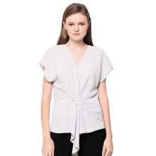 LOOKBOUTIQUESTORE Mya Top - Light Grey