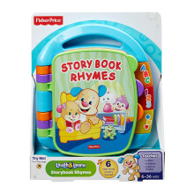 FISHER PRICE Infant Learn Storybook Rhymes 6CDH26