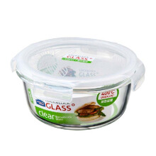 LOCK & LOCK Airtight Rectangular Container Glass Boroseal Casserole LLG855 870ML