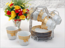 VICENZA Tea Set Lily 15Pcs  C78