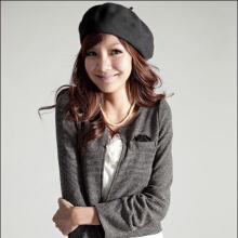 Casual Autumn Winter Women Ladies Fashionable Cap Berets Princess Hat