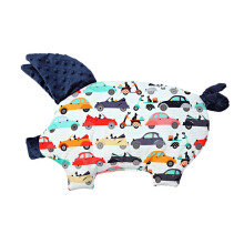 LA MILLOU Sleepy Pig Pillow - La Mobile Navy SP066N