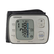 OMRON Automatic Wrist Blood Pressure Monitor HEM-6221