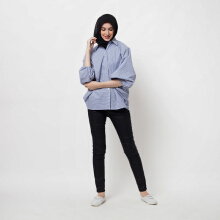 COVERING STORY Wizy Top Blue [One Size]