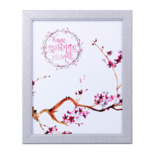BLOOM & BLOSSOM Springs Eternal Poster with Frame 25x30cm