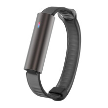 MISFIT Ray Carbon Black Wearables Black Sport Band La Unisex [S501BM0BZ]