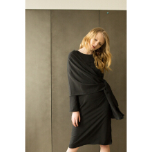 SHOP AT VELVET Revel In Nostalgia Multiway Dress - Black [All Size]