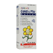 NATRA Bio Children Cold & flu 1 Oz