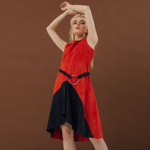 Bel.Corpo Mara Dress - Red