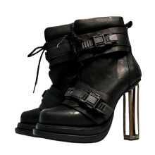 KTZ Long Boots #7  - Black