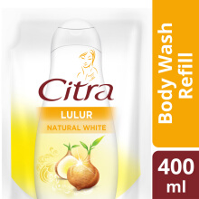 CITRA Lasting White Body Wash Pouch 400ml