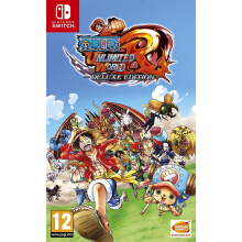 NINTENDO Switch Game - One Piece Unlimited World Red: Deluxe Edition