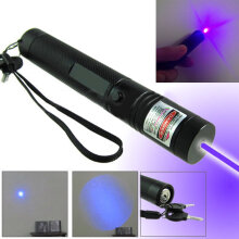 301 Laser Pointer Pen Adjustable Focus Super Laser Visible Beam 532nm Light
