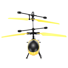 8013 Hand Infrared Suspension Induction Helicopter LED Toy
