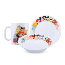 BRILIANT Disney Breakfast set Tsum tsum Set of 3 - GMC1493