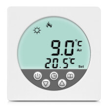 Floureon BYC15.H3 16A White LCD Display Thermostat