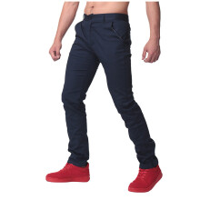 INCERUN Men's Casual Cargo Work Long Staight Trousers