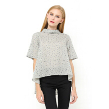 INSTYLE BY SURI Icha Top Grey - Grey