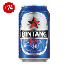 BINTANG Zero 0% Can 330ml x 24pcs
