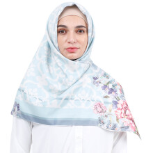 KAMILAA by ITANG YUNASZ Square Hijab - Pastel Remedy