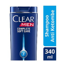 CLEAR Men Shampoo Complete Soft Care 340ml