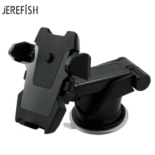 JEREFISH Universal Flexible Long Car-styling Phone Car Holder Stand Support Telephone Voiture for iPhone Xiaomi Phone Holder Black