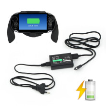 [Kingstore]For Sony PS Vita PSV AC Power Adapter Supply Convert Charger + USB Data Cable
