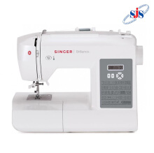 SINGER 6199 Brilliance Mesin Jahit Computerised Portable - Putih