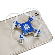 SBEGO - 124 2.4G 4CH 6-Axis Gyro RTF Pocket Quadcopter Aircraft Toy-Blue