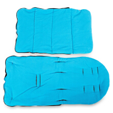 Babies Sleeping Bag Stroller Mat Foot Cover(Blue)