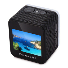 Cube 360S 360 Degrees Panorama WiFi Action Sport Camera 1.5 inch LCD Display 1080P VR Video Recording