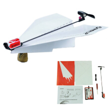 BESSKY Power up electric paper plane airplane conversion kit - White