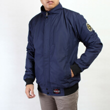 REBEL ID JAKET CASUAL PRIA ANTI AIR - BIRU