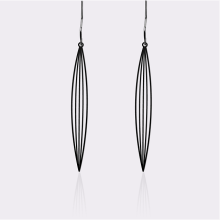 MOORIGIN - Sasagrass Earrings - Black (Size S)
