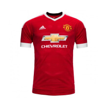 ADIDAS Manchester United Home Jersey - Red [S] AC1414