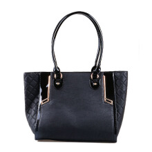 HUER Gianna Tote Bag - Black [One Size]