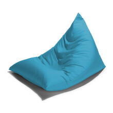 PRISSILIA Bean Bag Triangle Blue 90x140x90cm