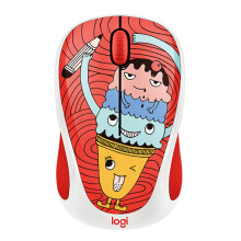 LOGITECH M238 Doodle Collection - Triple Scoop