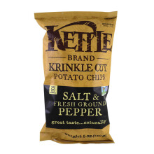 KETTLE CHIPS Krinkle Cut Salt & Pepper 142g