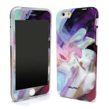 LOLYPOLY 2 in 1 Case Marble + Anti Gores for Apple Iphone 5 (010696xx04)