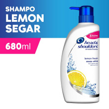 HEAD & SHOULDERS Shampoo Lemon Fresh 680ml