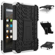 BESSKY Rubber Shockproof Hybrid Hard Case Cover Stand Holder For Kindle Fire HD7 2015_