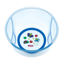 NUK Transparent Deep Bowl