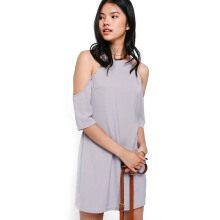 LOVE, BONITO Uyzana Off Shoulder Dress - Lilac