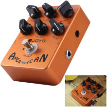 JOYO JF - 14 True Bypass Design American Sound Amp Simulator Electric Guitar Effect Pedal with Aluminum Alloy Casing
