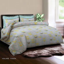 KING RABBIT Bed Cover Double Motif Volare Toska/ 230x230 cm