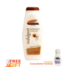 PALMERS Coconut Oil Sulfate Free Body Wash 400ml (Free Fragrance Free Lotion 250ml)