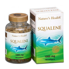 NATURE'S HEALTH Squalene 1000mg 100 Softgels